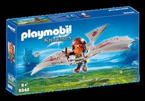 Trpaslík na létajícím stroji 9342 Playmobil Playmobil