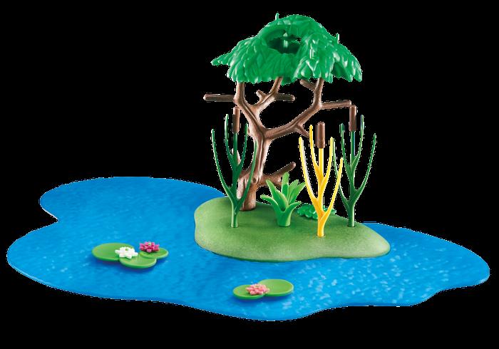 Vodní krajina 6424 Playmobil Playmobil