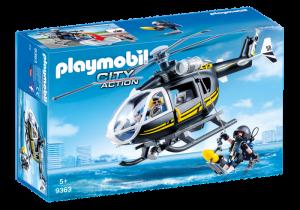 Vrtulník zásahového týmu 9363 Playmobil Playmobil