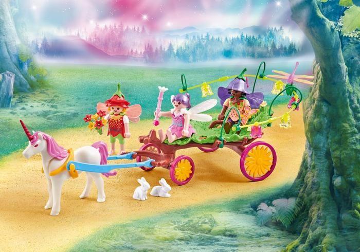 Vůz s jednorožcem 9823 Playmobil Playmobil