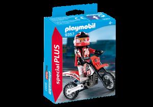 Závodník na motorce 9357 Playmobil Playmobil