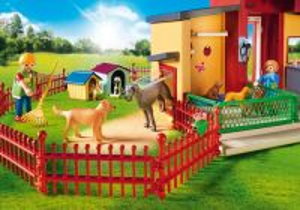 "Zvířecí hotel ""Tlapka"" 9275 Playmobil Playmobil"