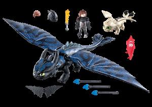 Bezzubka a Škyťák s dráčetem 70037 Playmobil Playmobil