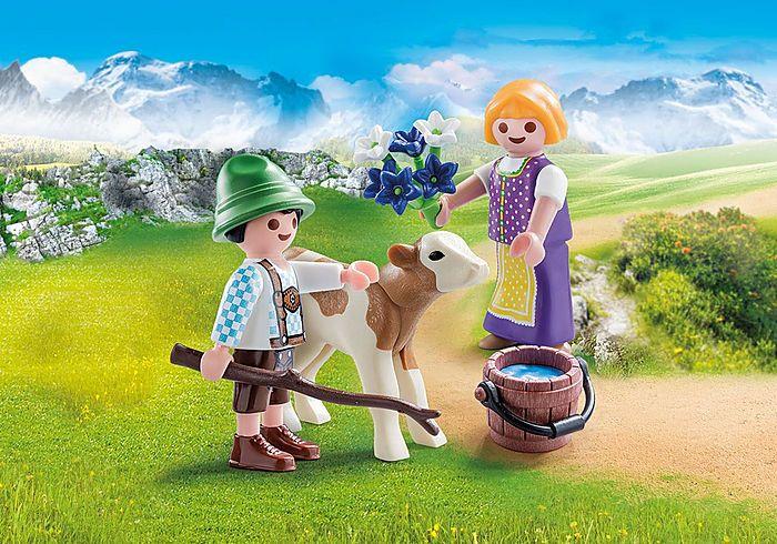 Děti s telátkem 70155 Playmobil Playmobil