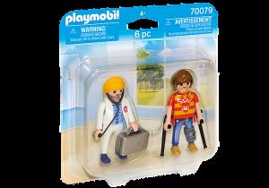 Doktorka a pacient 70079 Playmobil Playmobil