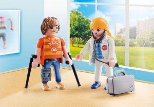 Doktorka a pacient 70079