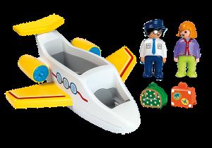 Dopravní letadlo (1.2.3) 70185 Playmobil Playmobil