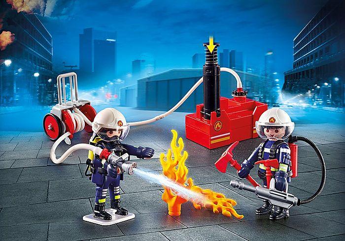 Hasiči s vodním čerpadlem 9468 Playmobil Playmobil