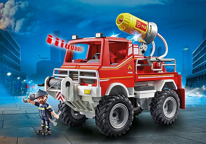 Hasičské auto Truck 9466 Playmobil Playmobil