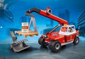 Hasičský teleskopický nakladač 9465 Playmobil Playmobil