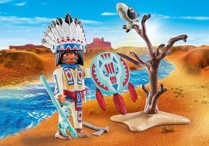 Indiánský náčelník 70062
