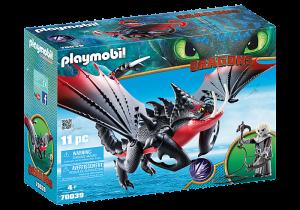 Jedosmrťák a Grimmel 70039 Playmobil Playmobil