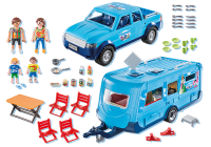 Karavan a pick-up 9502 Playmobil Playmobil