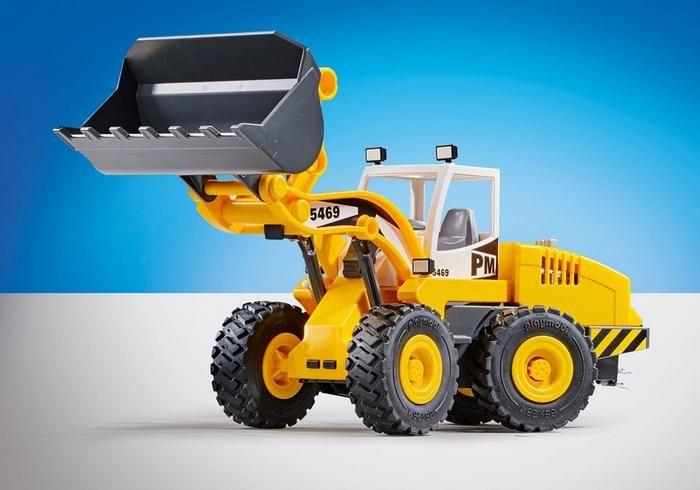 Kolový nakladač 6598 Playmobil Playmobil