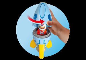 Kosmonaut s raketou (1.2.3) 70186 Playmobil Playmobil