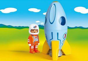 Kosmonaut s raketou (1.2.3) 70186