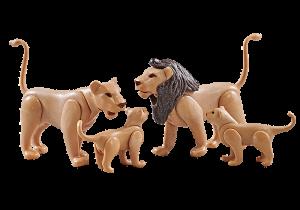 Lví rodina 9834