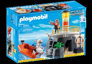 Maják a záchranný člun 5626 Playmobil Playmobil