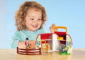 Moje první přenosná farma (1.2.3) 70180 Playmobil Playmobil