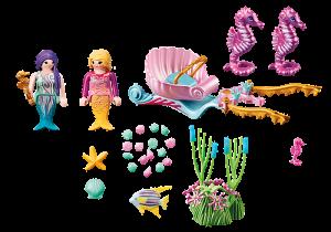 Mořský kočár s koníky 70033 Playmobil Playmobil
