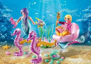 Mořský kočár s koníky 70033