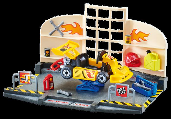 Motodílna 9827 Playmobil Playmobil
