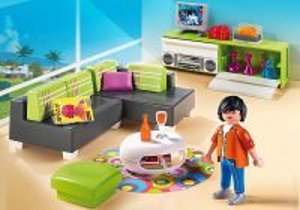 Moderní obývák 5584 Playmobil Playmobil