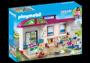 Přenosná veterinární klinika 70146 Playmobil Playmobil