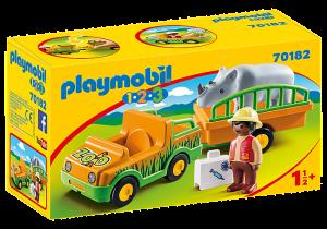 Převoz nosorožce (1.2.3) 70182 Playmobil Playmobil