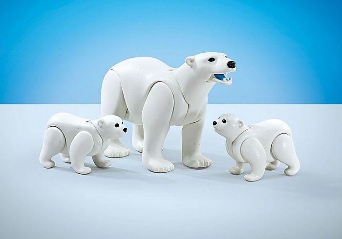 Rodina ledních medvědů 9833 Playmobil Playmobil