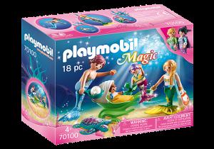 Rodina s kočárkem 70100 Playmobil Playmobil