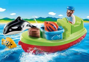 Rybář na loďce (1.2.3) 70183