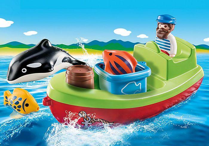 Rybář na loďce (1.2.3) 70183 Playmobil Playmobil