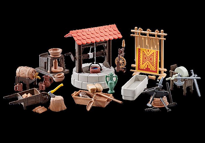 Set středověkých doplňků 9842 Playmobil Playmobil
