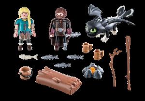 Škyťák a Astrid s dráčetem 70040 Playmobil Playmobil