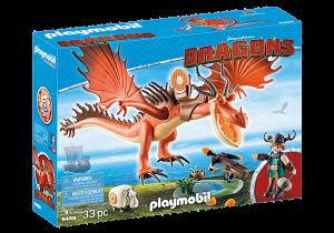 Snoplivec a Tesák 9459 Playmobil Playmobil