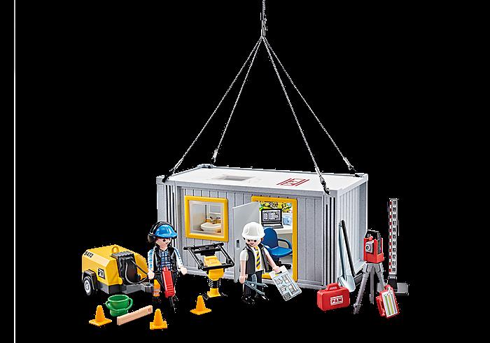 Stavební buňka 9843 Playmobil Playmobil