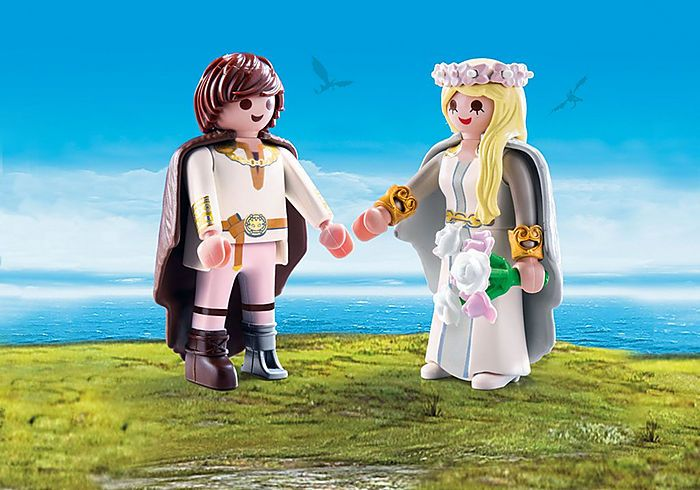 Svatba Astrid a Škyťáka 70045 Playmobil Playmobil