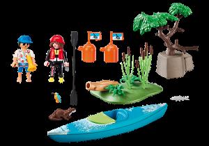 Trénink kánoisty 70035 Playmobil Playmobil