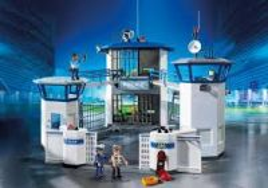 Vězení s heliportem 6919 Playmobil Playmobil